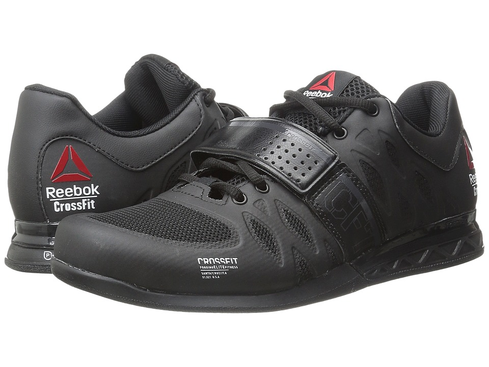 Reebok - CrossFit Lifter 2.0 (Black/Coal) Men's Cross Training Shoes
