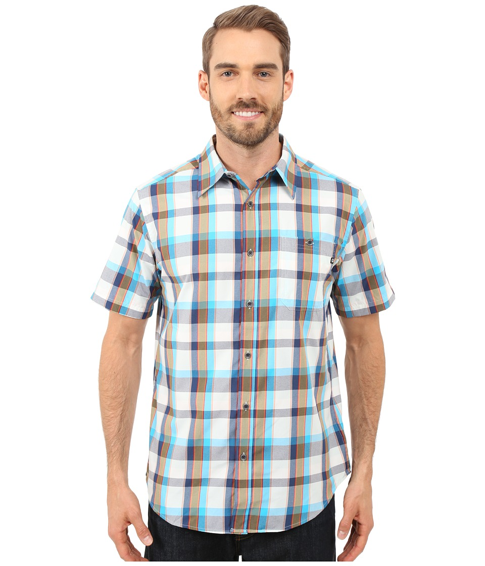 Marmot - Asheboro Short Sleeve (Stellar Blue) Men's Short Sleeve Button Up