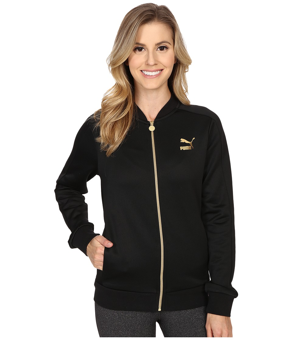 PUMA - No. 1 Logo Track Jacket (Black) Women's Jacket