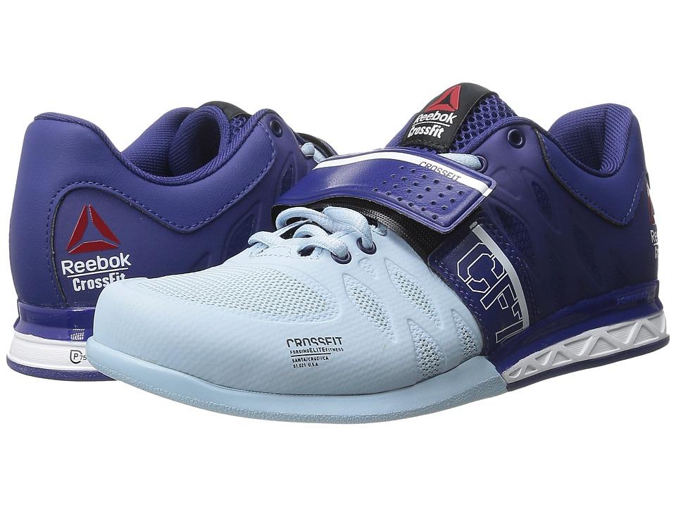 Reebok - CrossFit Lifter 2.0 (Night Beacon/Zee Blue/White) Women's Cross Training Shoes