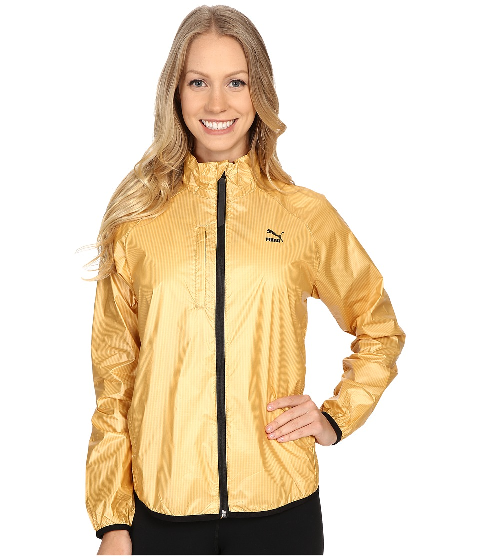 PUMA - Gold Windrunner (Pale Gold) Women's Coat