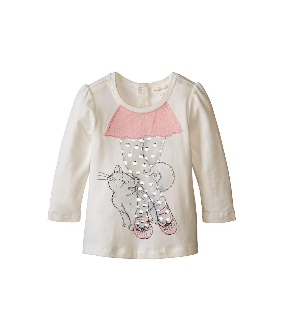 Pumpkin Patch Kids - Dance Academy Ballerina Tutu Top (Infant/Toddler/Little Kids) (Vanilla) Girl's Clothing