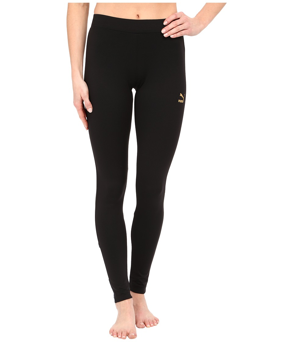PUMA - Story Leggings (Black) Women's Workout