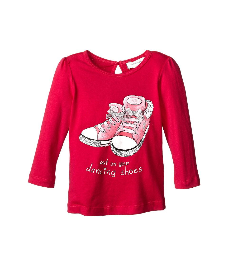 Pumpkin Patch Kids - Dance Academy Printed Long Sleeve (Infant/Toddler/Little Kids/Big Kids) (Fuchsia Rose) Girl