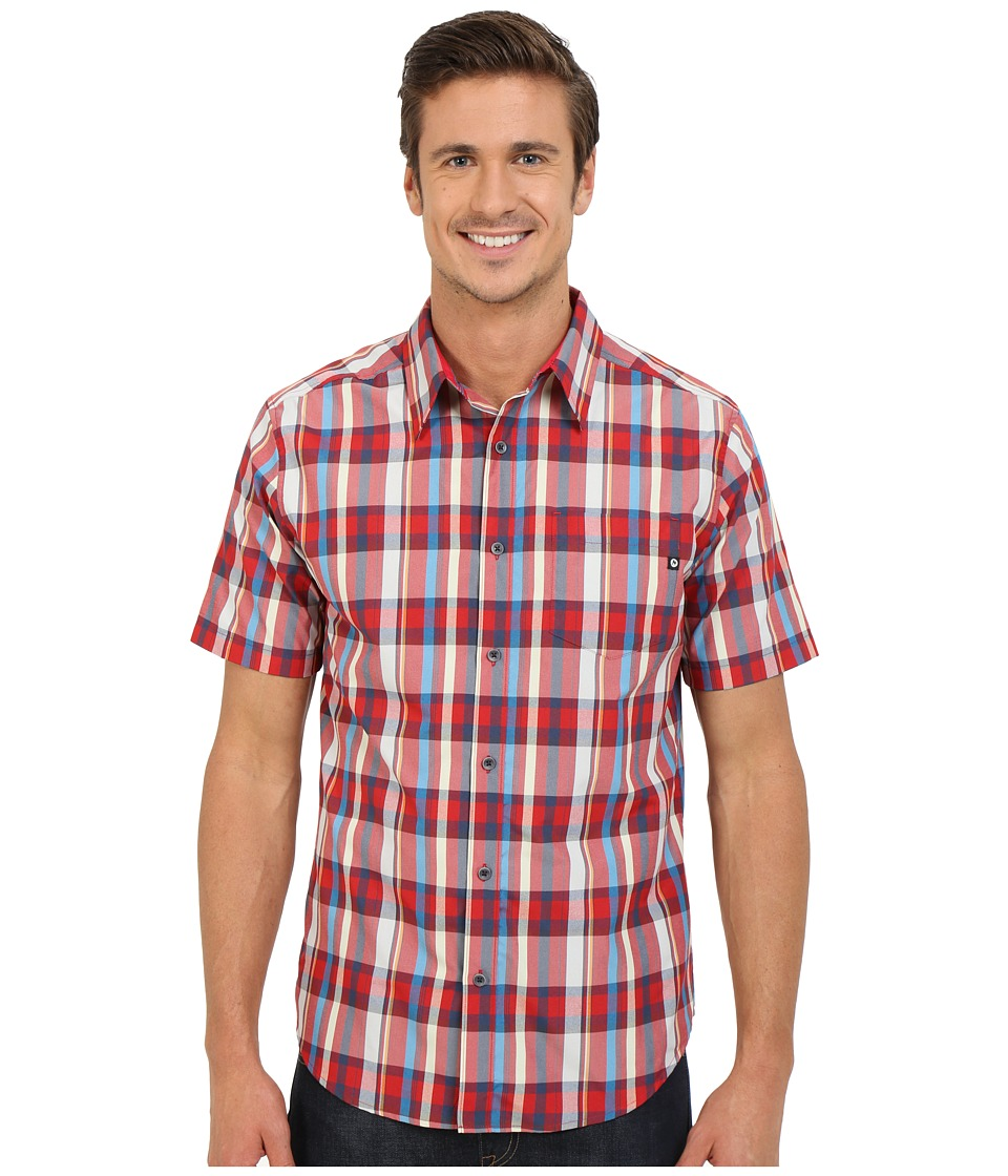 Marmot - Dobson S/S (Redstone) Men's Short Sleeve Button Up