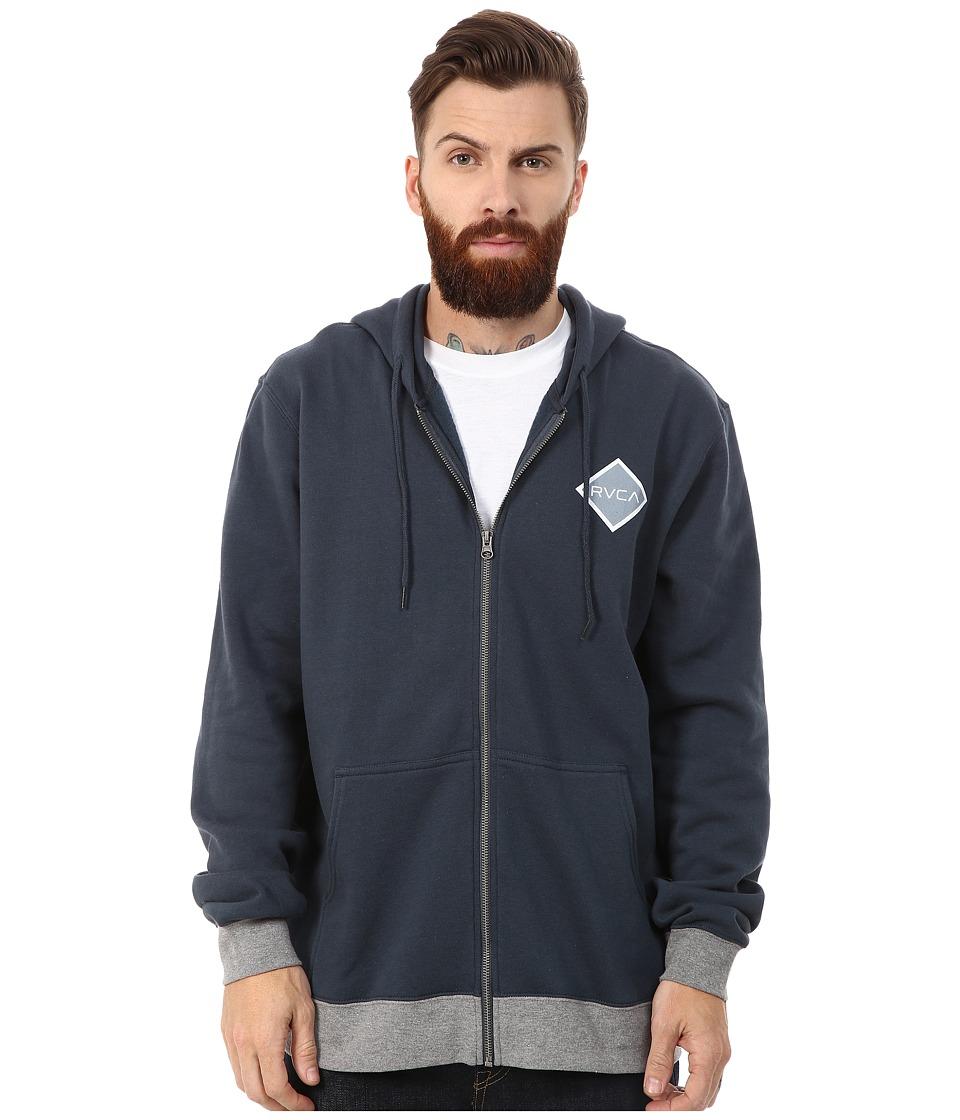 RVCA - Matchbook Fleece (Midnight) Men's Fleece