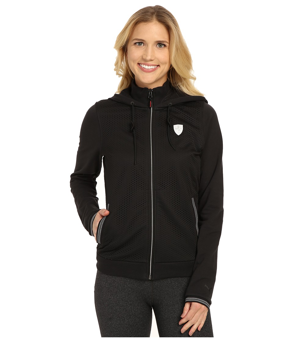 PUMA - Ferrari Sweat Jacket (Moonless Night) Women's Sweatshirt