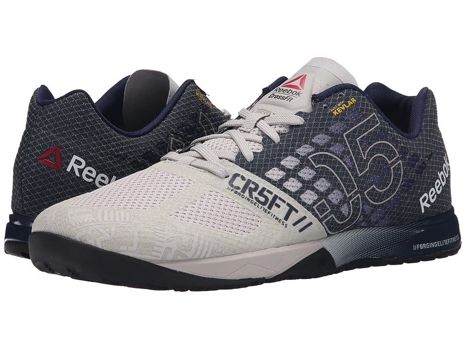Reebok - CrossFit Nano 5.0 (Steel/Collegiate Navy/Tin Grey/Black/Shark) Men's Cross Training Shoes