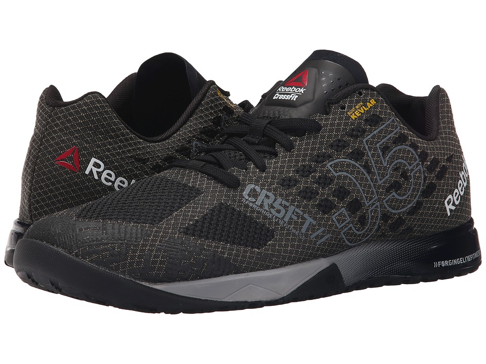 Reebok - CrossFit Nano 5.0 (Black/Alloy/Tin Grey/Shark) Men's Cross Training Shoes