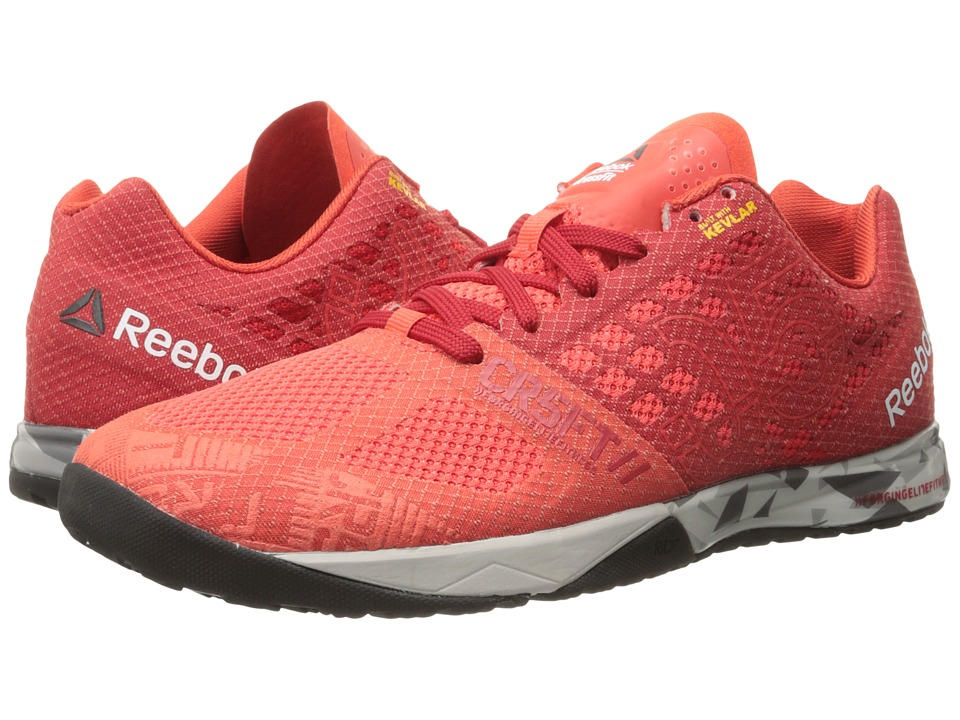 Reebok - CrossFit Nano 5.0 (Laser Red/Excellent Red/Steel/Shark/Black/Motor Red) Men's Cross Training Shoes