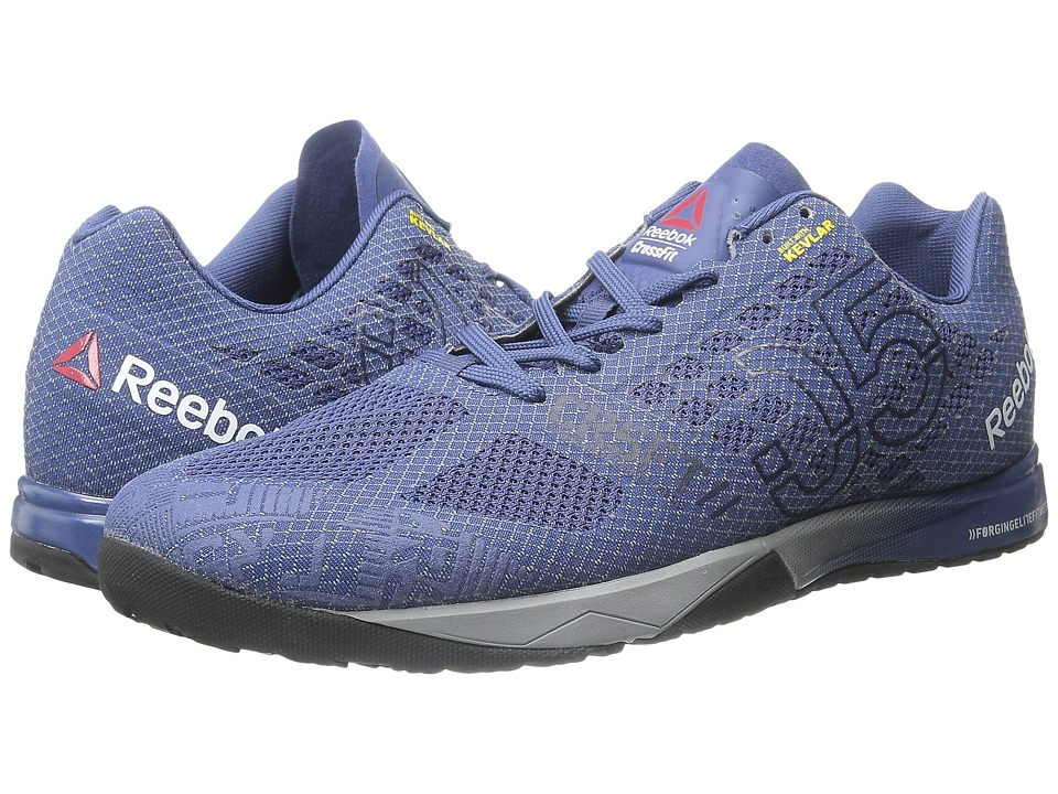 Reebok - CrossFit Nano 5.0 (Midnight Blue/Collegiate Navy/Tin Grey/Shark/Black) Men's Cross Training Shoes