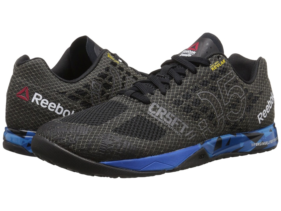 Reebok - CrossFit Nano 5.0 (Black/Blue Sport/Electric Blue/Shark) Men's Cross Training Shoes
