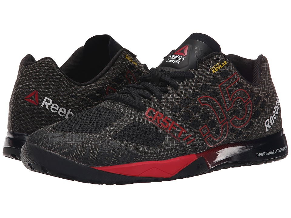 Reebok - CrossFit Nano 5.0 (Black/Motor Red/Shark/White) Men's Cross Training Shoes