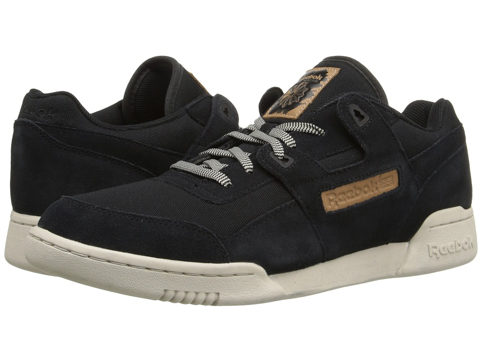 Reebok Lifestyle - Workout Plus Utility (Black/Blue Sport/Stucco) Men's Classic Shoes