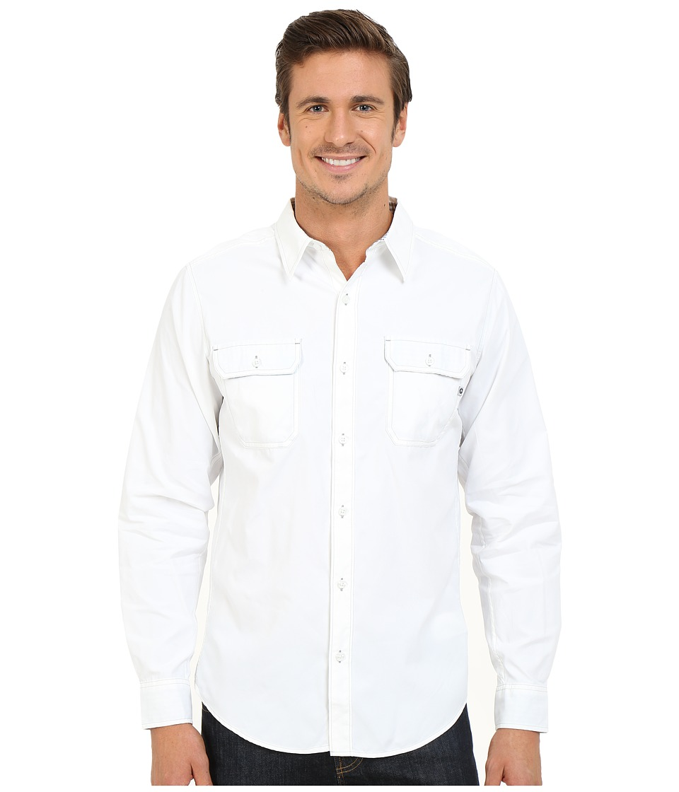 Marmot - Skyliner Long Sleeve (White) Men's Clothing