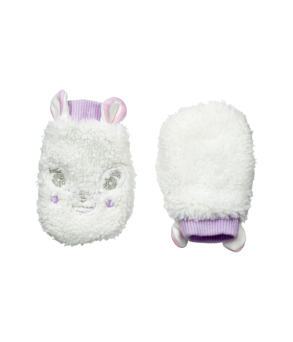 Pumpkin Patch Kids - Finding Anastasia Fluffy Mittens (Vanilla) Extreme Cold Weather Gloves