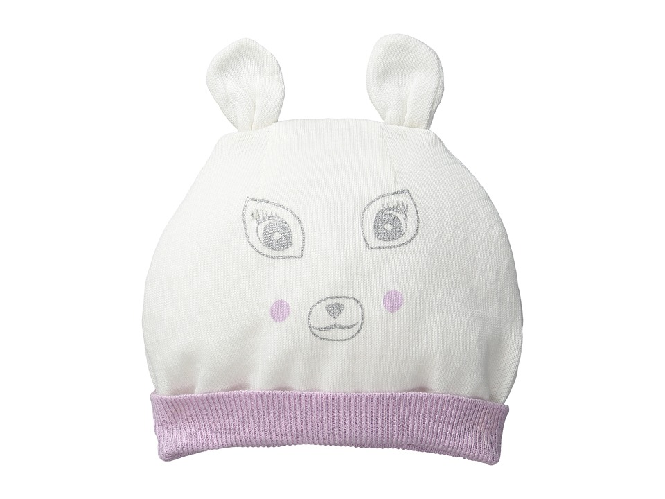Pumpkin Patch Kids - Finding Anastasia Knit Deer Hat (Infant/Toddler/Little Kids/Big Kids) (Vanilla) Caps