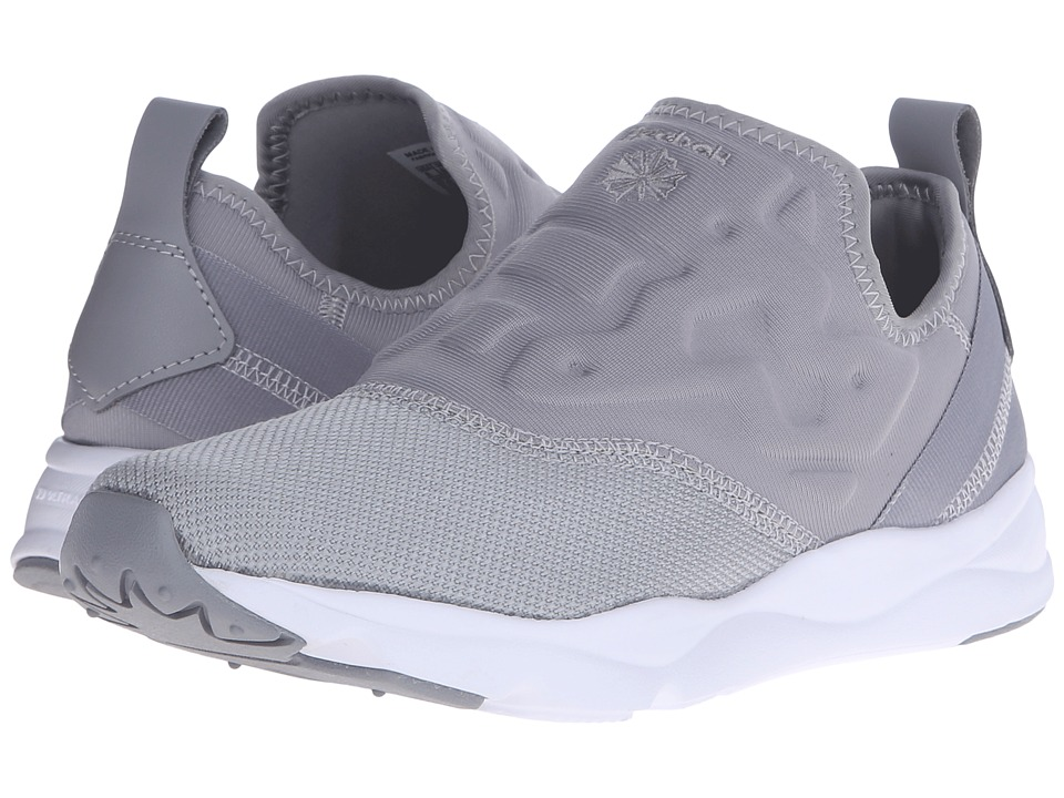 Reebok Lifestyle - Furylite Slip Contemp (Tin Grey/White) Women's Classic Shoes