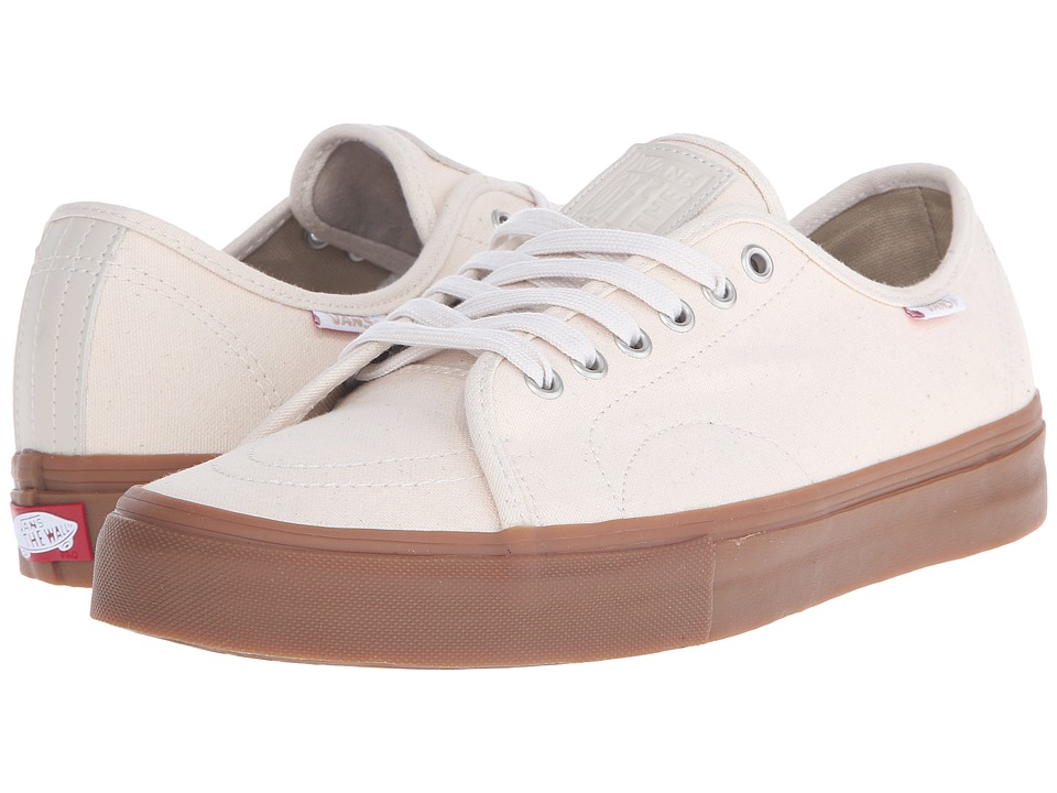 Vans - AV Classic (Natural Canvas/Gum) Men's Skate Shoes