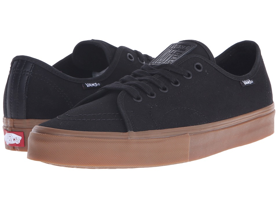 Vans - AV Classic (Black/Gum) Men's Skate Shoes