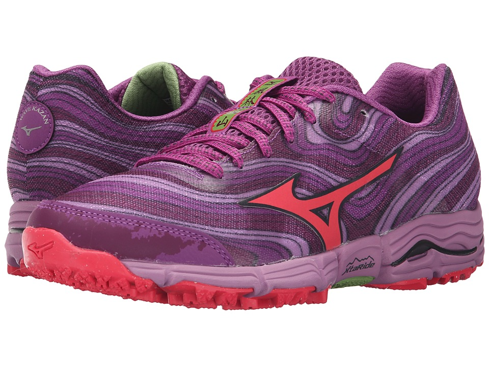 Mizuno - Wave Kazan (Amaranth/Diva Pink/Hyacinth Violet) Women's Running Shoes
