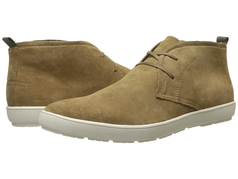 Calvin Klein - Nowles (Sand/White Suede) Men's Lace-up Boots