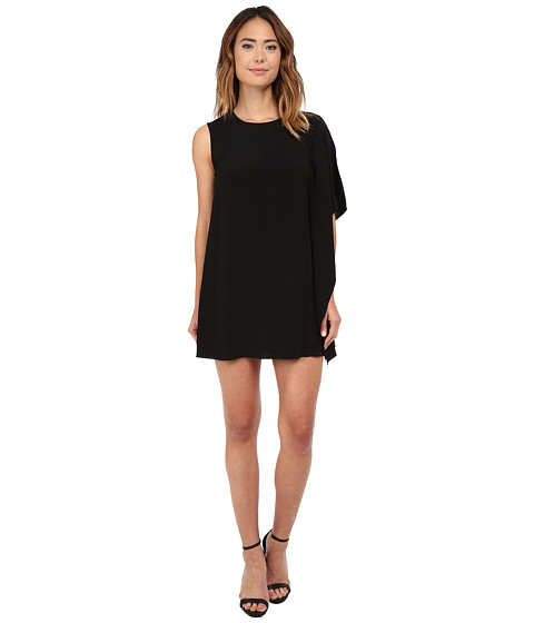 French Connection - Emma Crepe Dress (Black) Women's Dress