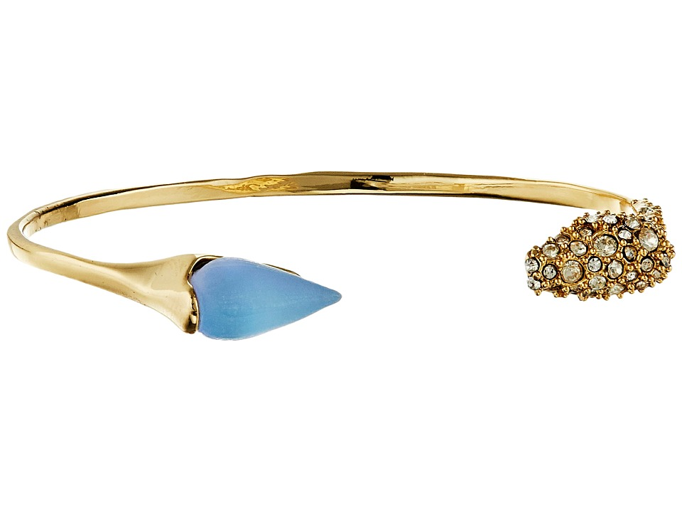 Alexis Bittar - Encrusted Mini Spear Cuff (Iridescent Ice Blue) Bracelet