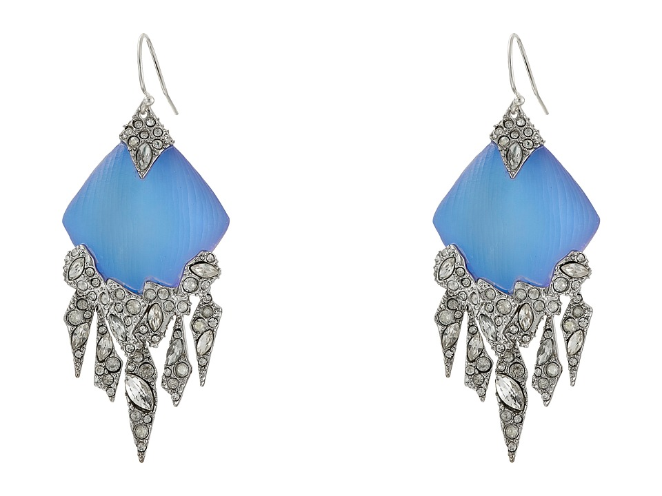 Alexis Bittar - Chandelier Wire Earrings (Iridescent Ice Blue) Earring