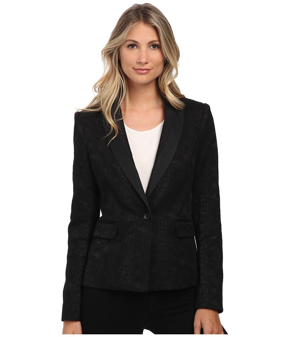 BCBGMAXAZRIA - Aiden Jacket (Black) Women's Coat