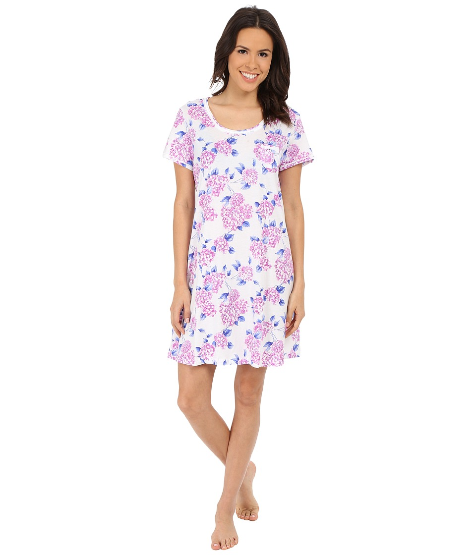 Carole Hochman - Key Item Sleepshirt (Hydrangea Fields) Women's Pajama
