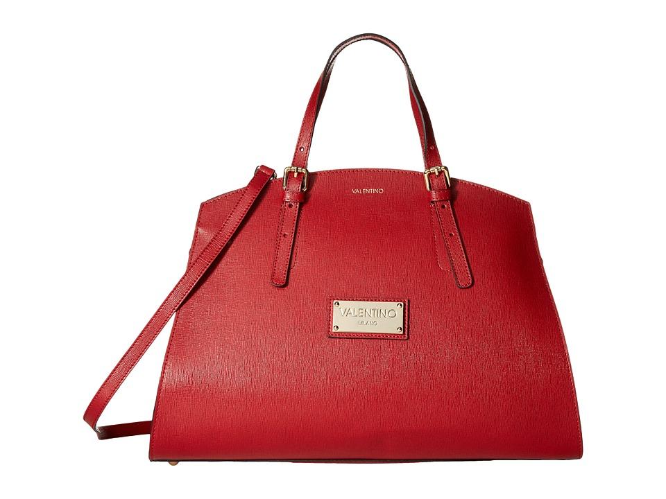 Valentino Bags by Mario Valentino - Cecile (Marsala) Satchel Handbags