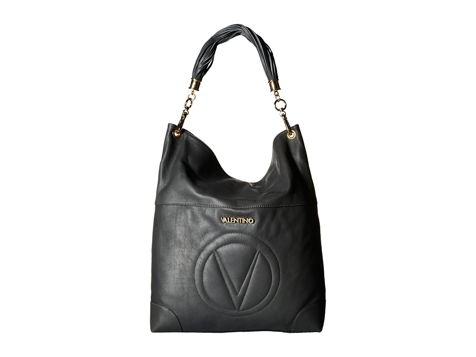 Valentino Bags by Mario Valentino - Cavina (Dark Grey) Handbags
