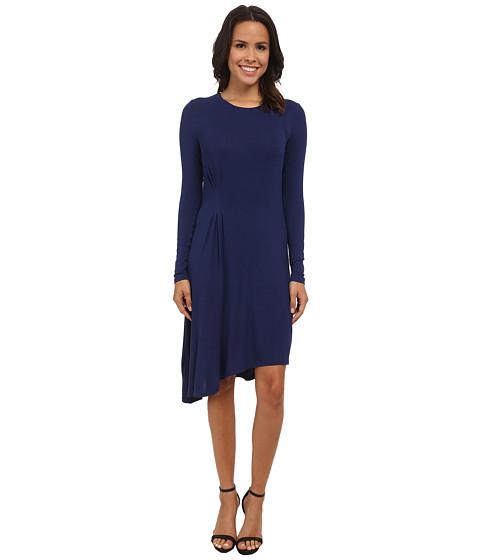 BCBGMAXAZRIA - Korinna Knit Casua Dress (Classic Blue) Women's Dress