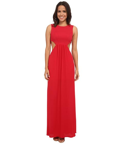 BCBGMAXAZRIA - Angelinah Woven Cocktail Dress (Rio Red) Women