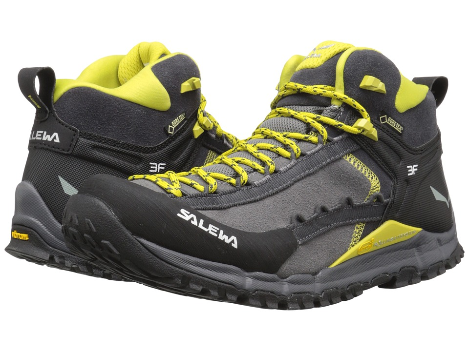 SALEWA - Hike Roller Mid GTX (Pewter/Kamille) Men's Shoes