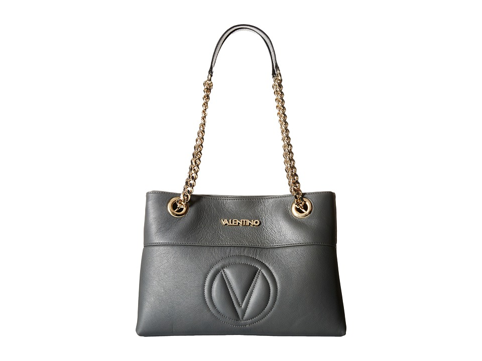 Valentino Bags by Mario Valentino - Karina (Dark Grey) Handbags