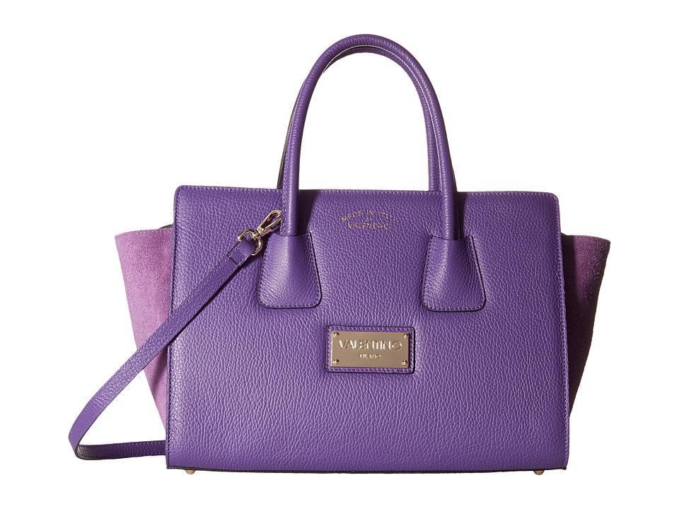 Valentino Bags by Mario Valentino - Kiria (Violet) Satchel Handbags
