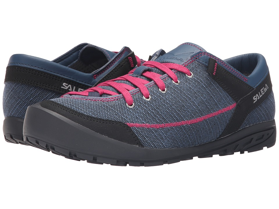 SALEWA - Alpine Road (Washed Denim/Fuchsia) Women's Shoes
