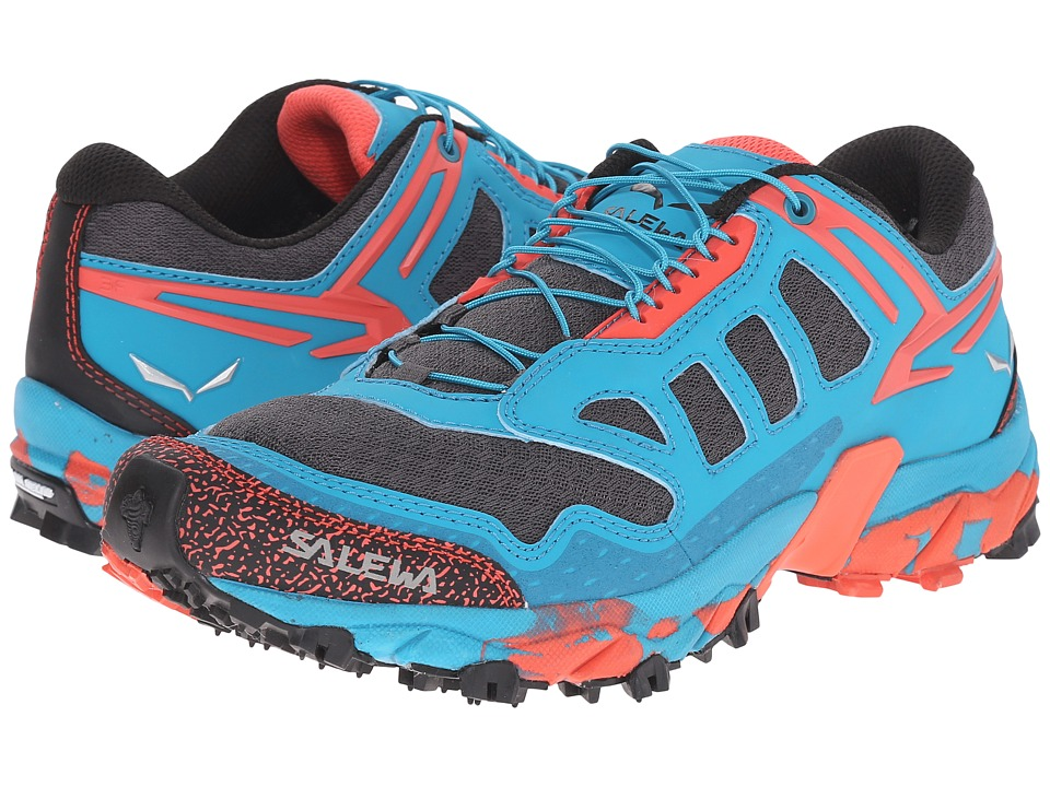 SALEWA - Ultra Train (Magnet/Hot Coral) Women's Shoes
