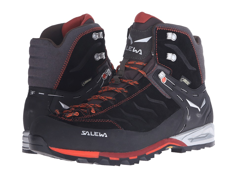 SALEWA - Mountain Trainer Mid GTX (Black/Indio) Men's Shoes