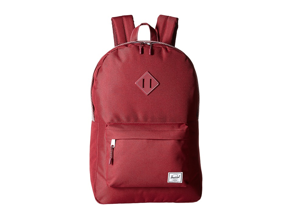Herschel Supply Co. - Heritage (Windsor Wine Micro Polka Dot) Backpack Bags