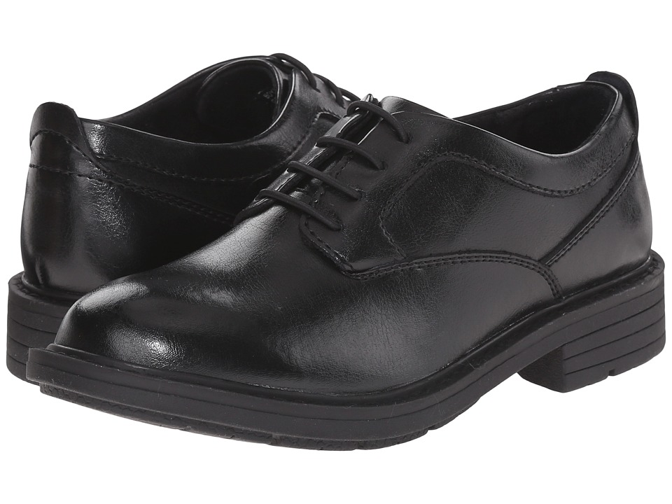 Florsheim Kids - Studio Plain Toe Ox. Jr. (Toddler/Little Kid/Big Kid) (Black) Boys Shoes