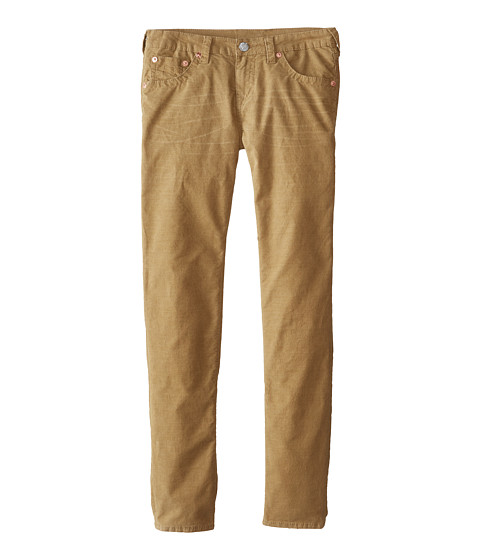 True Religion Kids - Geno Relaxed Fit Single End Classic Corduroy Stretch (Big Kids) (Beach Nut) Boy's Casual Pants