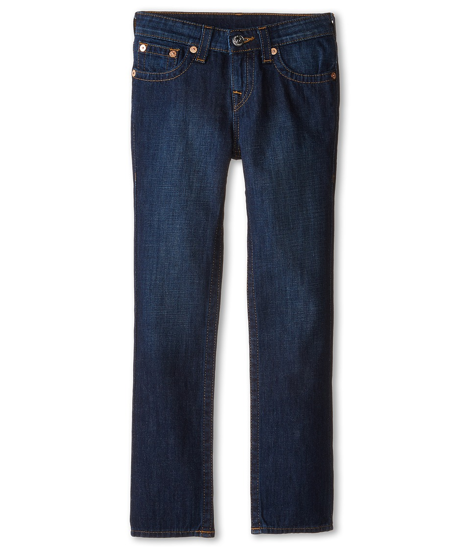 True Religion Kids Geno Relaxed Slim Vintage Gold Single End Classic in Antique (Big Kids) (Antique) Boy