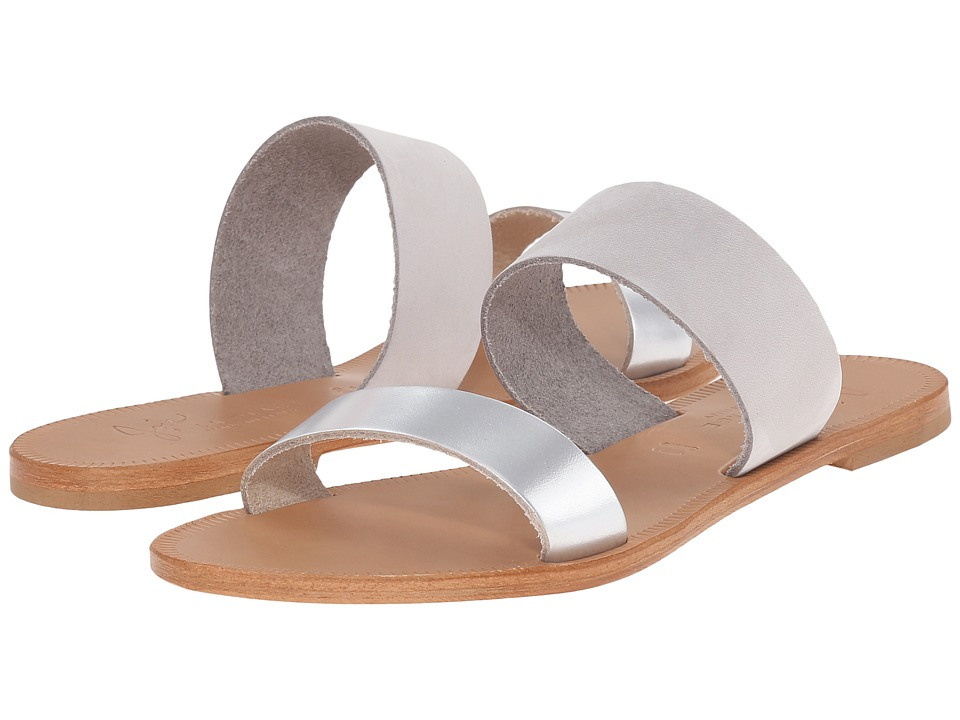 Joie - Sable (Silver/Perla) Women's Sandals