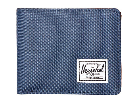 Herschel Supply Co. - Hank (Navy/Tan PU) Wallet Handbags