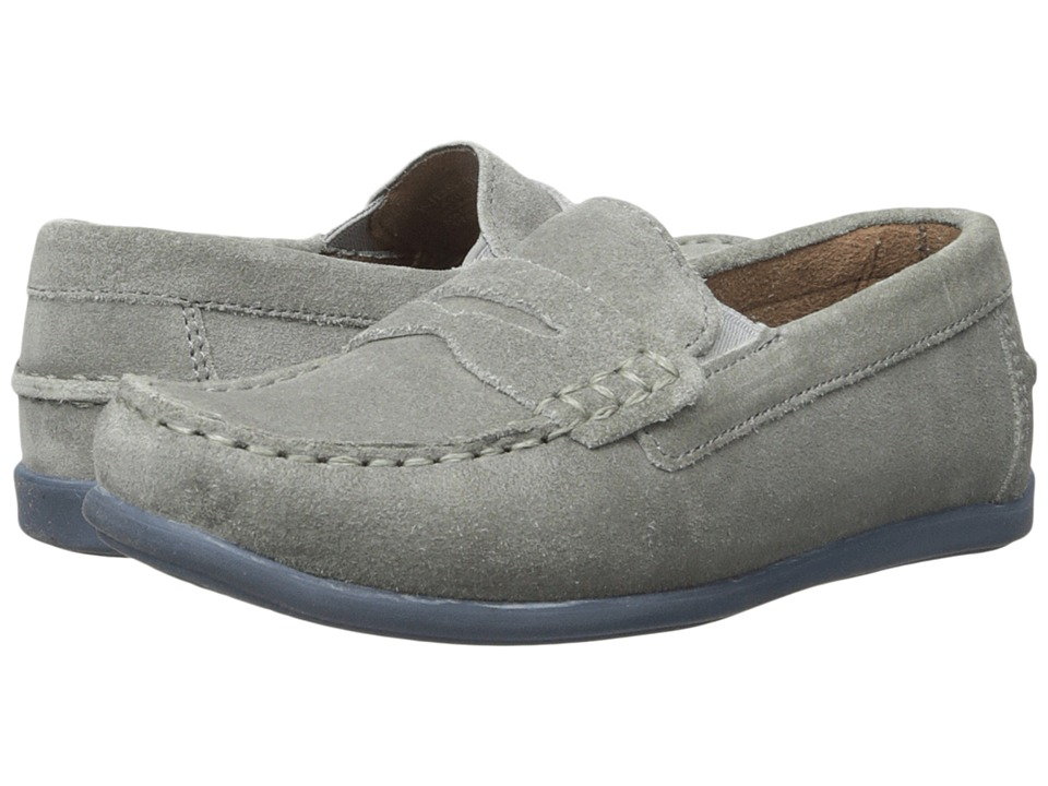 Florsheim Kids - Jasper Driver Jr. (Toddler/Little Kid/Big Kid) (Gray Suede) Boys Shoes