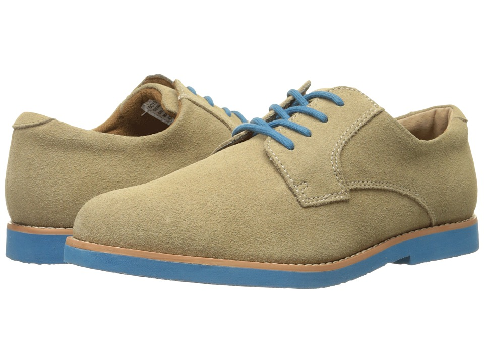 Florsheim Kids - Kearny Jr. (Toddler/Little Kid/Big Kid) (Beige/Blue Sole) Boys Shoes