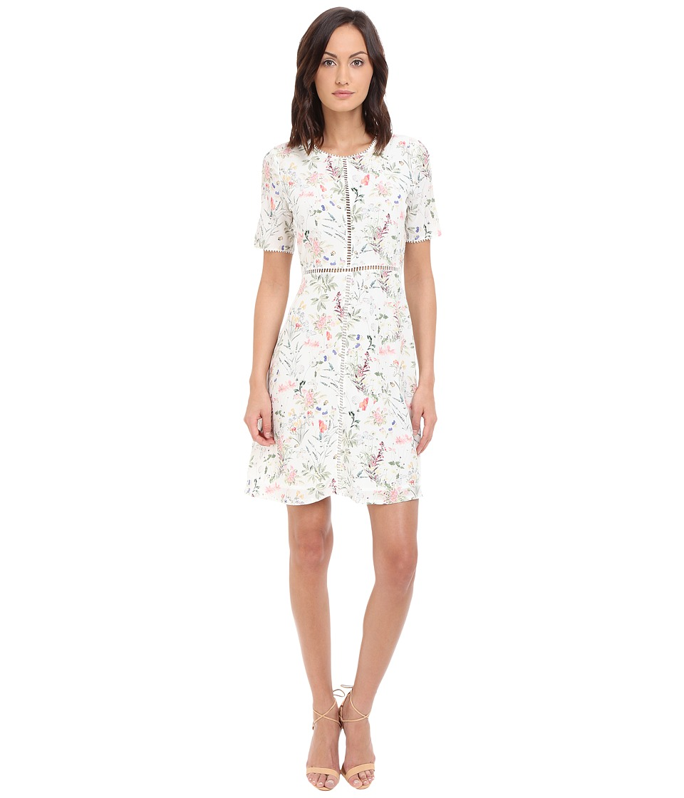 The Kooples - Botanic on CDC Dress (White) Women's Dress